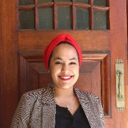 Teacher Il-haam at UCT's English Language Centre