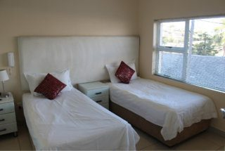Double room accommodation with en-suite bathroom.