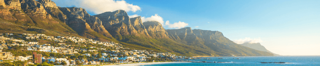 An image of Camps Bay and the Twelve Apostles