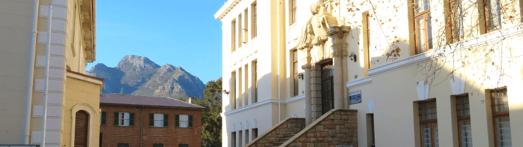The old Medical School building on Hiddingh Campus, University of Cape Town