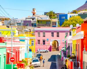 The colourful suburb of Bo-Kaap