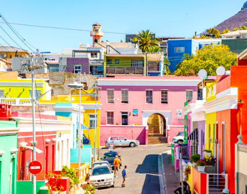 The colourful suburb of Bo-Kaap
