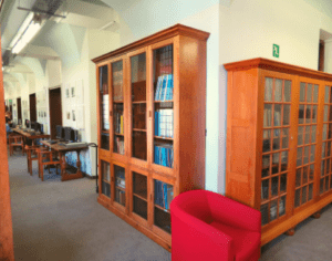 Computers, scanners and rare books in the Hiddingh Campus library