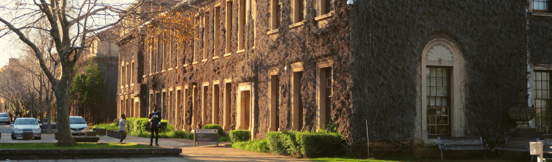 The Mathematics building on UCT Upper Campus