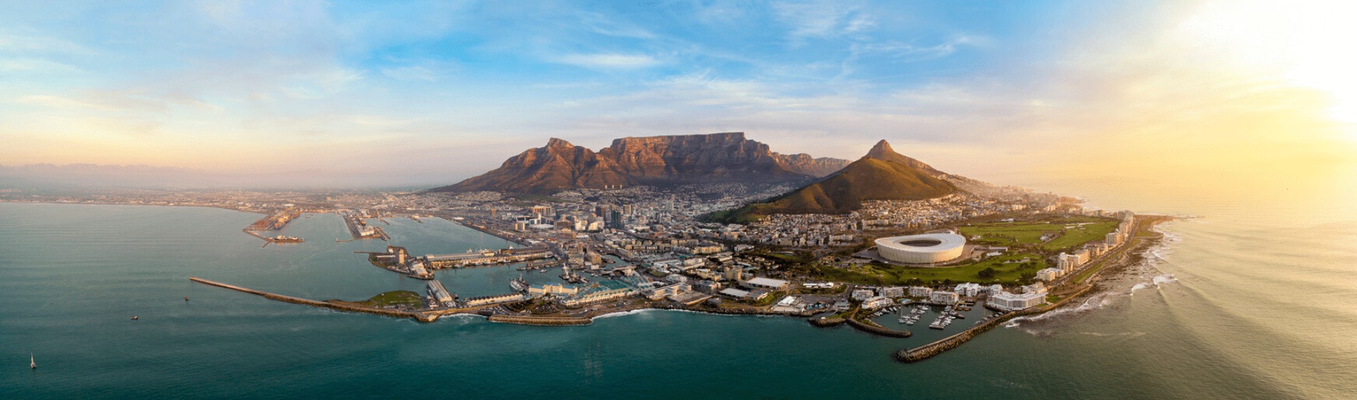 Cape Town from air 1920x566