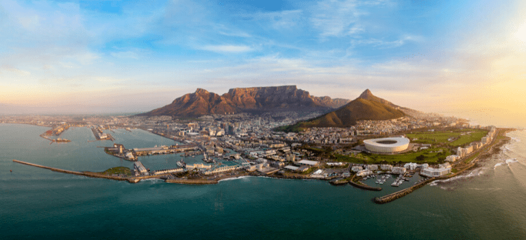 Cape Town from air 768x350
