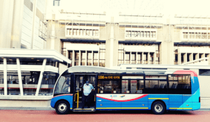 Get around using the city's rapid transport service