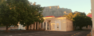 The Eqyptian Building on UCT Hiddingh Campus