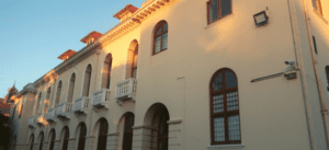 The library building at the University of Cape Town's Hiddingh campus