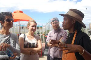 Students learn about Cape Town's rich coffee culture at the Department of Coffee