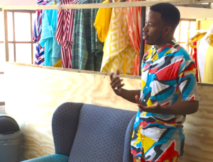 Fashion Designer, Mzukisi Mbane, discusses their work
