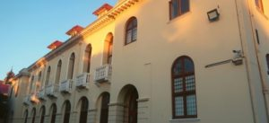 The Hiddingh Building on Hiddingh Campus