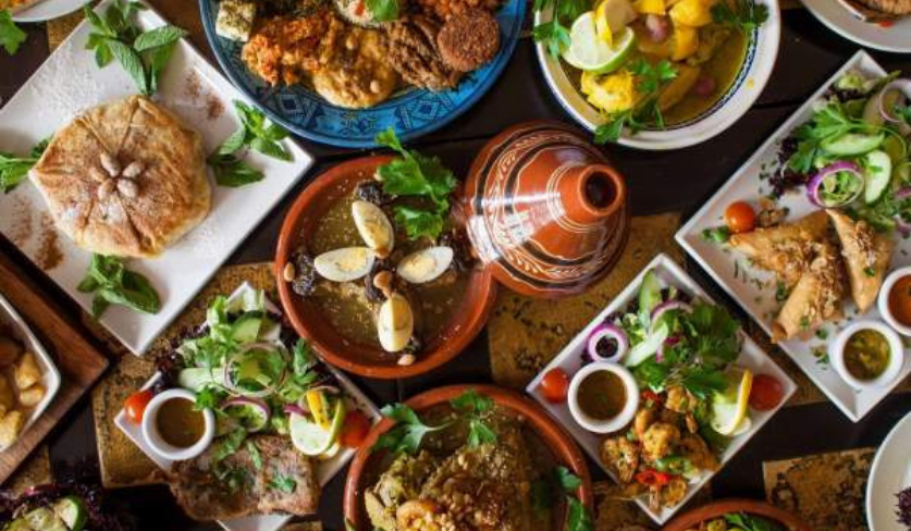 A Moroccan feast