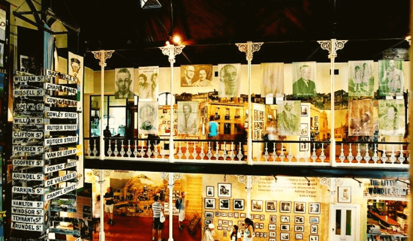 Inside the District Six Museum