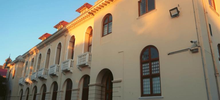 Building on Hiddingh Campus